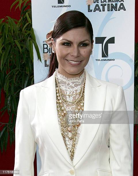Olga Tanon during 2006 Billboard Latin Music Conference Awards Arrivals at Seminole Hard Rock Hotel and Casino in Hollywood Florida United States