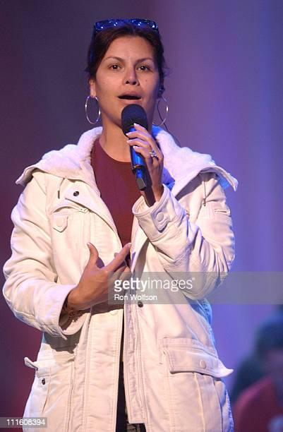 Olga Tanon during 2006 NCLR ALMA Awards Rehearsals at Shrine Auditorium in Los Angeles California United States