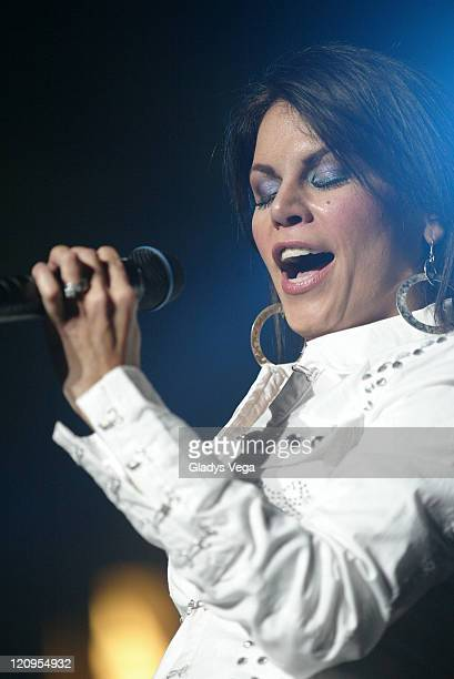 Olga Tanon during Encuentro De Los Grandes Estereotempo Show and Backstage June 4 2005 at Jose M Agrelot Coliseum in San Juan Puerto Rico