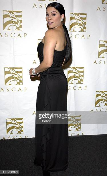 Olga Tanon during The 11th Annual 'El Primio ASCAP' Awards at Beverly Hilton Hotel in Beverly Hills California United States