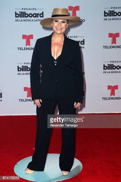 Olga Tañon attends the Billboard Latin Music Awards at Watsco Center on April 27 2017 in Coral Gables Florida