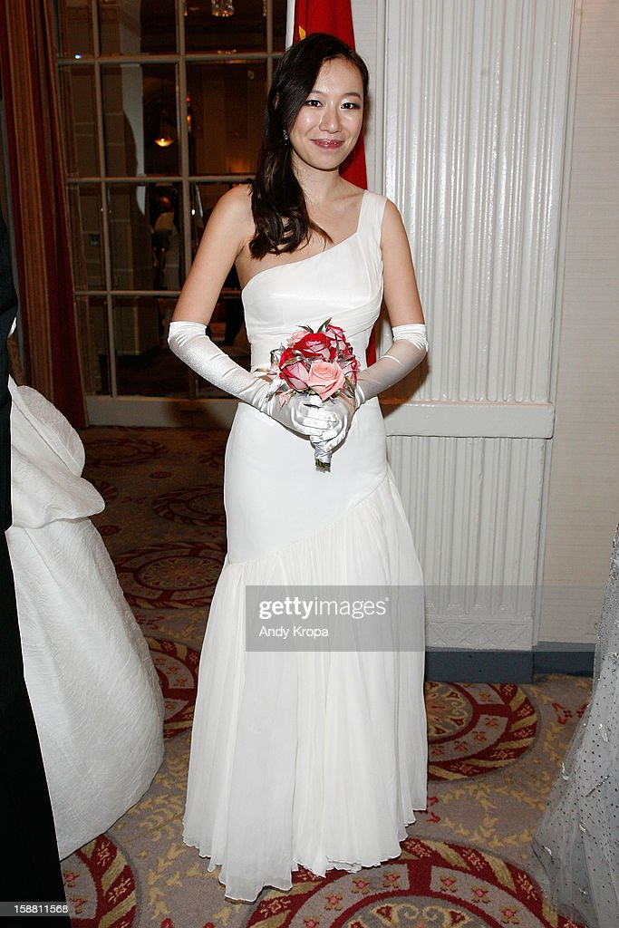 Olia Lau attends The 58th International Debutante Ball at The Waldorf-Astoria on December 29, 2012 in New York City.