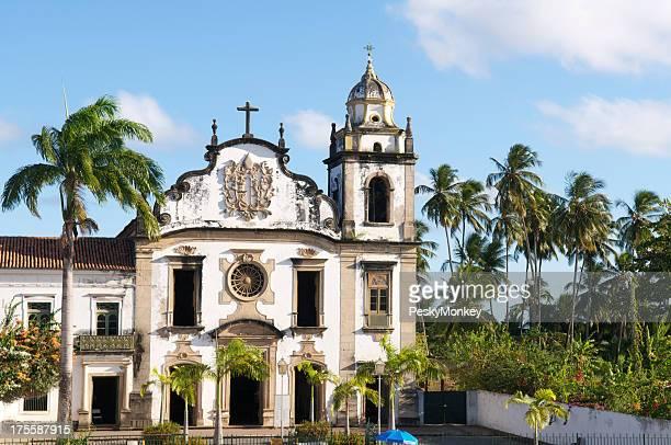 Olinda Brasil Barroca Igreja Colonial Mosteiro de São Bento