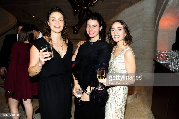 Oliva Vagelos Cara Roberts and Lydia Roberts attend The Crown Awards Gala in celebration of the 250th Anniversary of Columbia University College of...