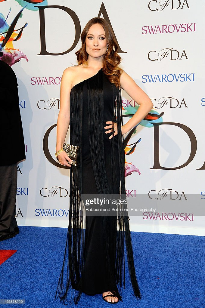 Oliva Wilde attends the 2014 CFDA fashion awards at Alice Tully Hall, Lincoln Center on June 2, 2014 in New York City.