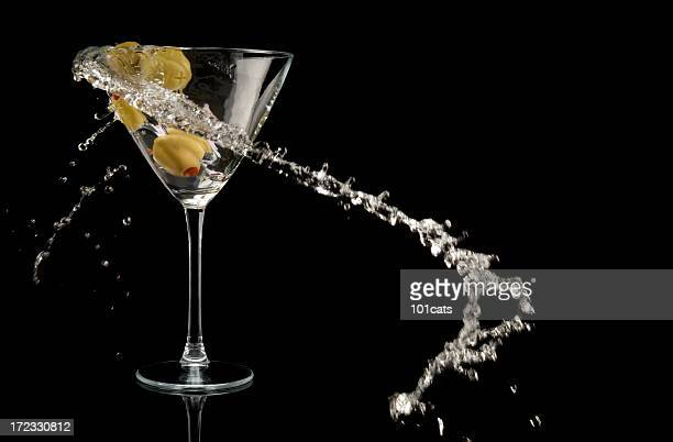 olive and martini,