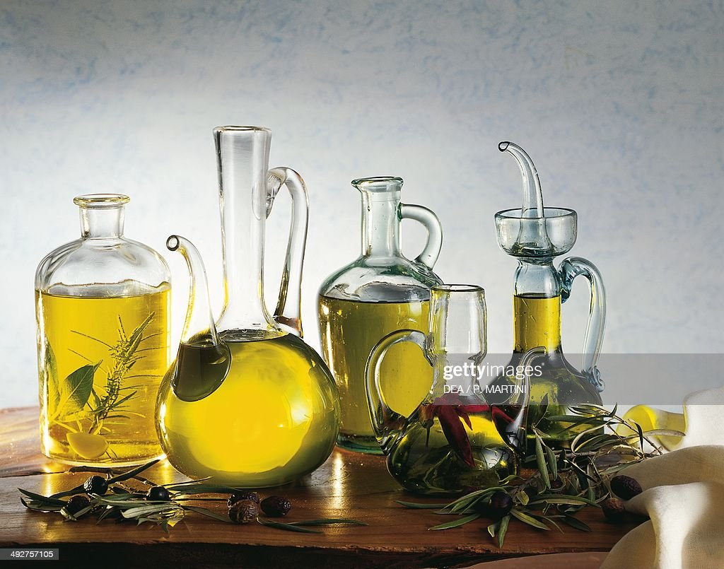 Olive oil and infused olive oil