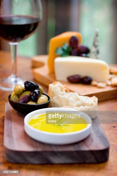 Olive Oil and Snacks