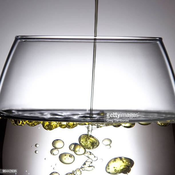 Olive oil in water reveals Lipophobicity property
