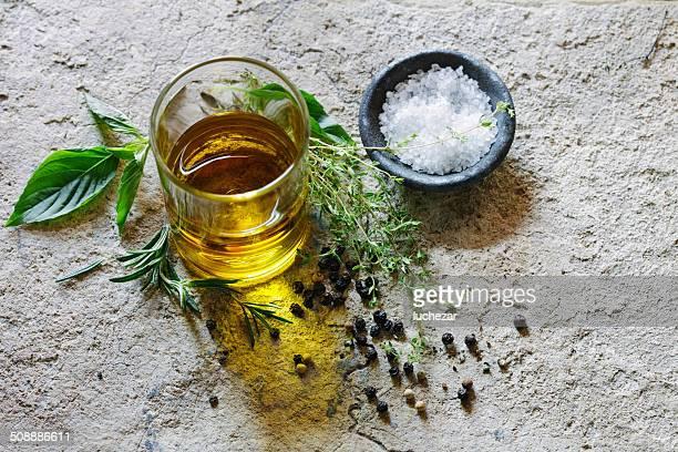 De l'huile d'Olive et d'herbes, Sel de mer
