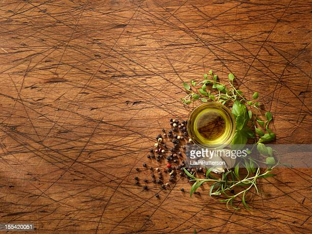 Olive Oil with Fresh Herbs
