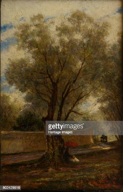 Olive Trees at Menton 1881 Found in the collection of State A Radishchev Art Museum Saratov