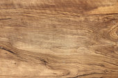 Close up of an olive wood cutting board