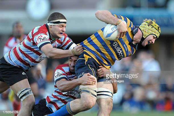 Oliver Atkins with the ball during the round X Shute Shield match between Sydney Uni v Southern Districts at North Sydney Oval on August 3 2013 in...