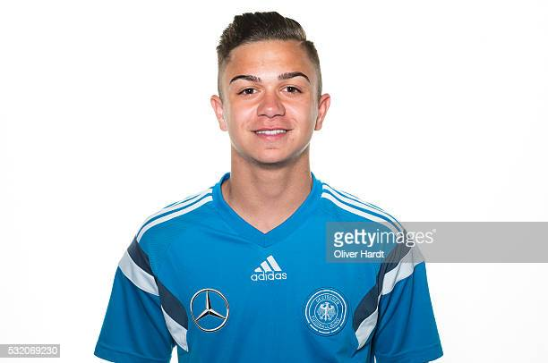 Oliver Batista Meier of Germany poses during U15 Germany Team Presentation on May 17 2016 in Leer Germany