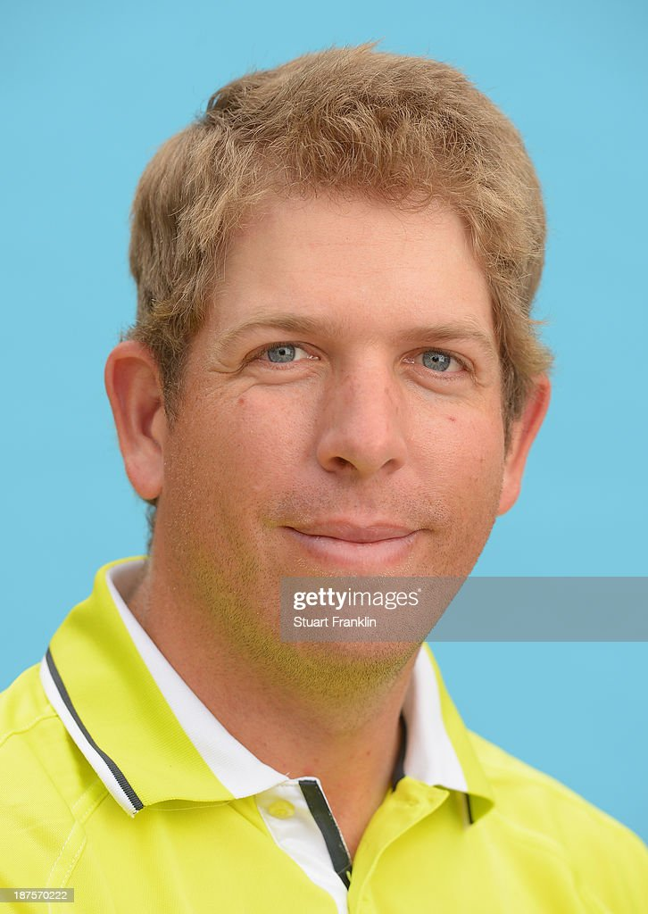 Oliver Bekker of South Africa poses for a photograph during the first round of European Tour qualifying school final stage at PGA Catalunya Resort on November 10, 2013 in Girona, Spain.