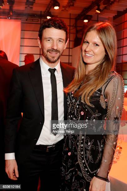 Oliver Berben and his wife Katrin Berben attend the German Television Award at Rheinterrasse on February 2 2017 in Duesseldorf Germany