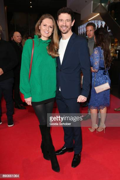 Oliver Berben and his wife Katrin Berben during the 'Dieses bescheuerte Herz' premiere at Mathaeser Filmpalast on December 11 2017 in Munich Germany