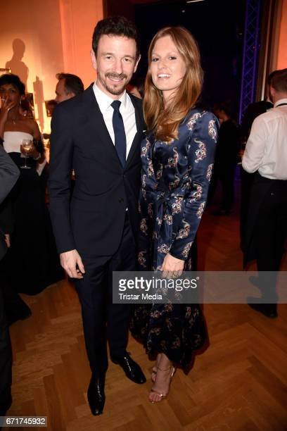 Oliver Berben and his wife Katrin Kraus during the ROMY award at Hofburg Vienna on April 22 2017 in Vienna Austria