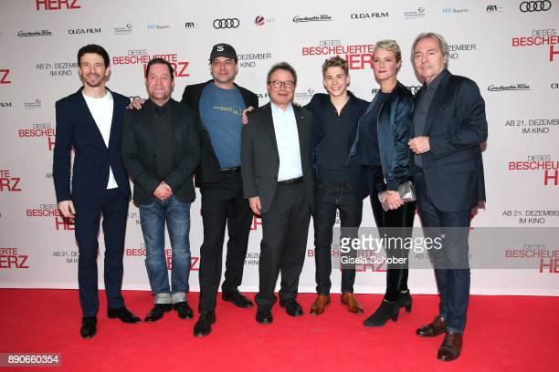 Oliver Berben Juergen Tonkel Director Marc Rothemund Dr Klaus Schaefer Philip Noah Schwarz Viola Jaeger and Harald Kuegler during the 'Dieses...