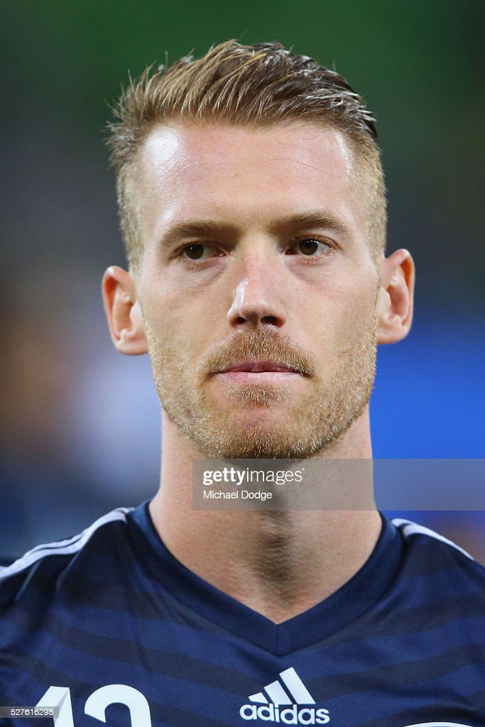 Oliver Bozanic of the Victory looks on during the AFC Champions League match between Melbourne Victory and Gamba Osaka at AAMI Park on May 3, 2016 in Melbourne, Australia.
