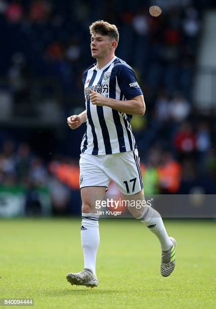 Oliver Burke of West Bromwich Albion during the Premier League match between West Bromwich Albion and Stoke City at The Hawthorns on August 27 2017...