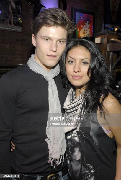 Oliver Cheshire and Claudia Flores attend Hilfiger Denim Marky Ramone Paper Magazine Invite you to Celebrate The Launch of MARKY RAMONE'S ROCK SCENE...
