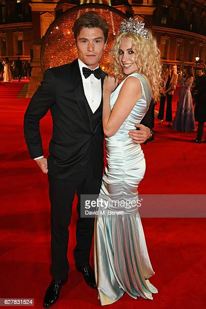 Oliver Cheshire and Pixie Lott attend The Fashion Awards 2016 at Royal Albert Hall on December 5 2016 in London United Kingdom