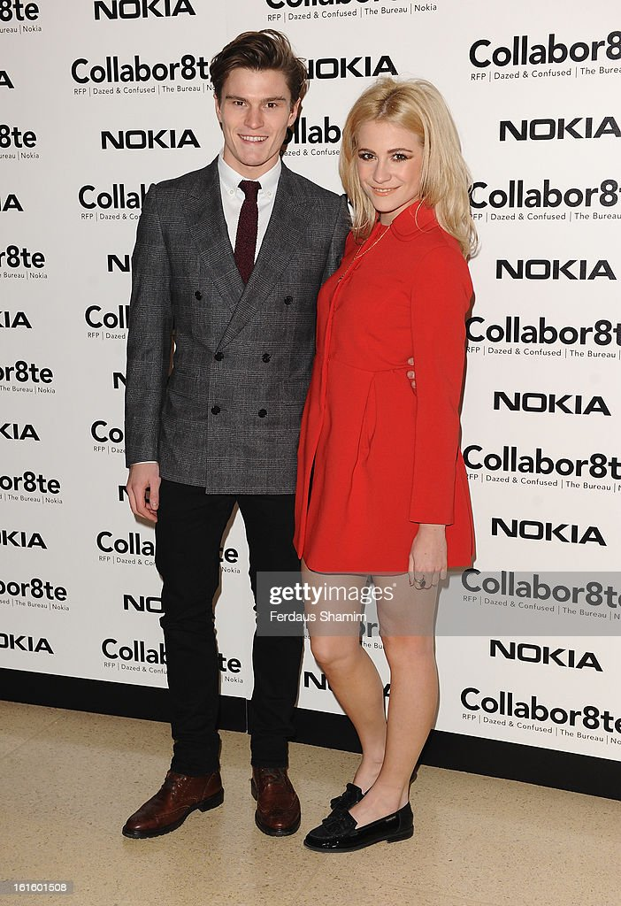 <a gi-track='captionPersonalityLinkClicked' href=/galleries/search?phrase=Oliver+Cheshire&family=editorial&specificpeople=7407100 ng-click='$event.stopPropagation()'>Oliver Cheshire</a> and Pixie Lott attend the premiere of Rankin's Collabor8te connected by NOKIA at Regent Street Cinema on February 12, 2013 in London, England.