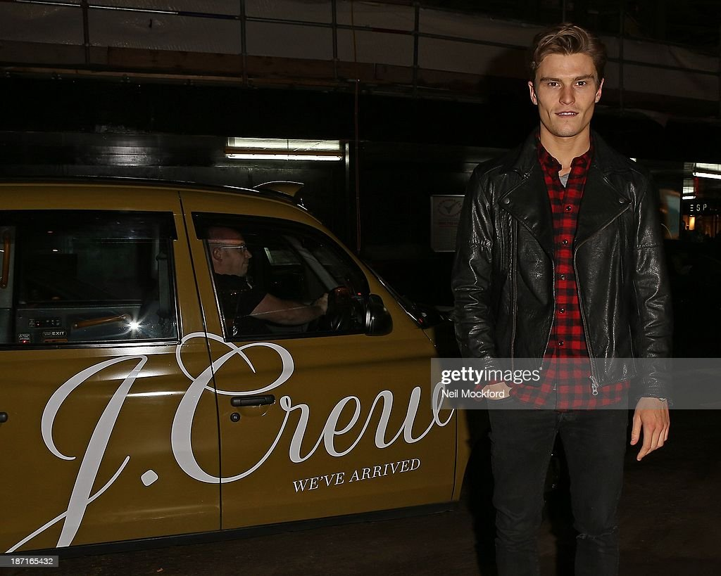 Oliver Cheshire at the UK flagship store launch of J. Crew on November 6, 2013 in London, England.