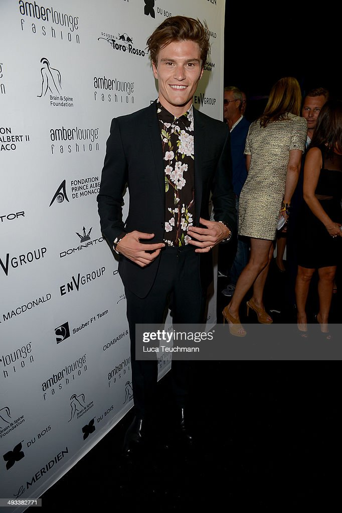 <a gi-track='captionPersonalityLinkClicked' href=/galleries/search?phrase=Oliver+Cheshire&family=editorial&specificpeople=7407100 ng-click='$event.stopPropagation()'>Oliver Cheshire</a> attends the Amber Lounge 2014 Gala at Le Meridien Beach Plaza Hotel on May 23, 2014 in Monte-Carlo, Monaco.