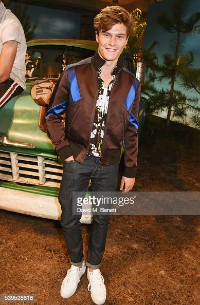 Oliver Cheshire attends the Belstaff presentation during The London Collections Men SS17 at QEII Centre on June 12 2016 in London England