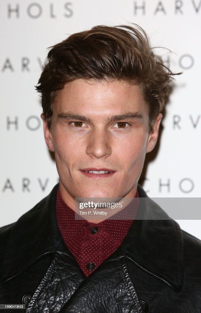 Oliver Cheshire attends the launch of 1205 Paula Gerbase Hosted By Harvey Nichols ahead of the London Collections: MEN AW13 at Harvey Nichols on January 6, 2013 in London, England.