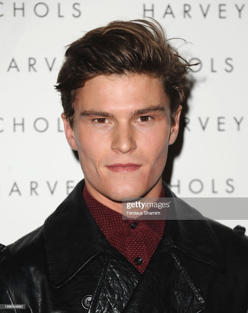 Oliver Cheshire attends the launch of 1205 Paula Gerbase Hosted By Harvey Nichols ahead of the London Collections: MEN AW13 at on January 6, 2013 in London, England.