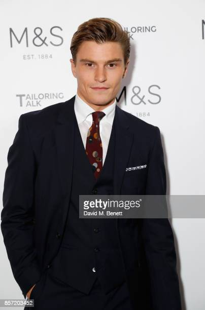 Oliver Cheshire attends the MS Tailoring Talk on October 3 2017 in London England