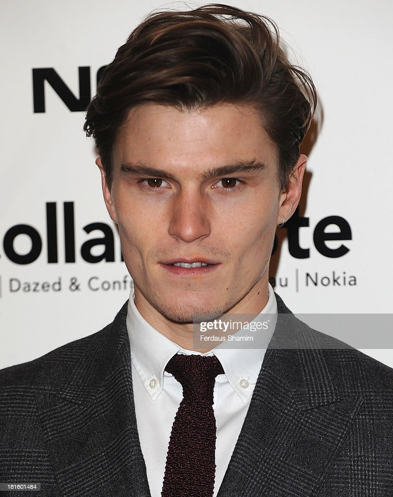 <a gi-track='captionPersonalityLinkClicked' href=/galleries/search?phrase=Oliver+Cheshire&family=editorial&specificpeople=7407100 ng-click='$event.stopPropagation()'>Oliver Cheshire</a> attends the premiere of Rankin's Collabor8te connected by NOKIA at Regent Street Cinema on February 12, 2013 in London, England.