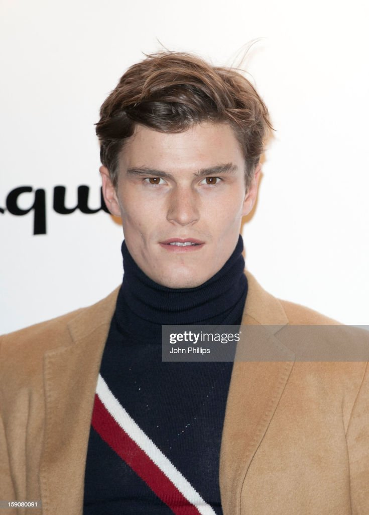 <a gi-track='captionPersonalityLinkClicked' href=/galleries/search?phrase=Oliver+Cheshire&family=editorial&specificpeople=7407100 ng-click='$event.stopPropagation()'>Oliver Cheshire</a> attends the Tommy Hilfiger & Esquire event at the London Collections: MEN AW13 at on January 7, 2013 in London, England.