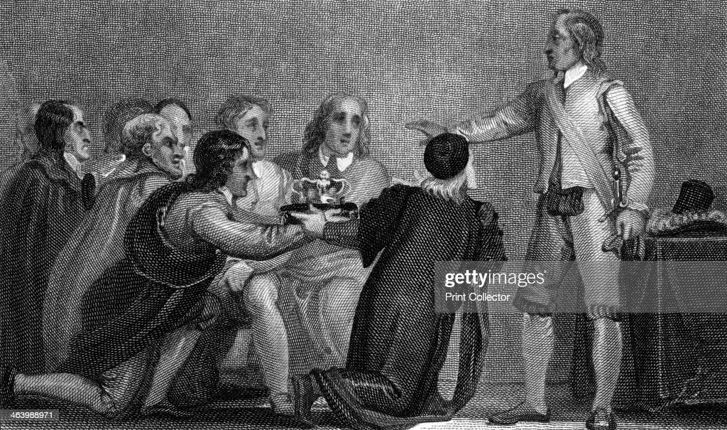 oliver-cromwell-rejecting-the-crown-1650