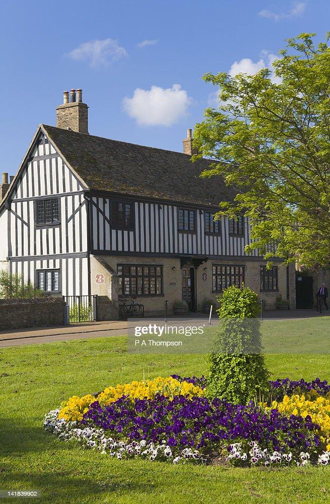 Oliver Cromwells House, Ely, Cambridgeshire, England : Stock Photo