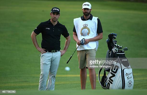 Oliver Farr of Wales in action during the second round of the Trophee Hassan II Golf at Golf du Palais Royal on March 27 2015 in Agadir Morocco