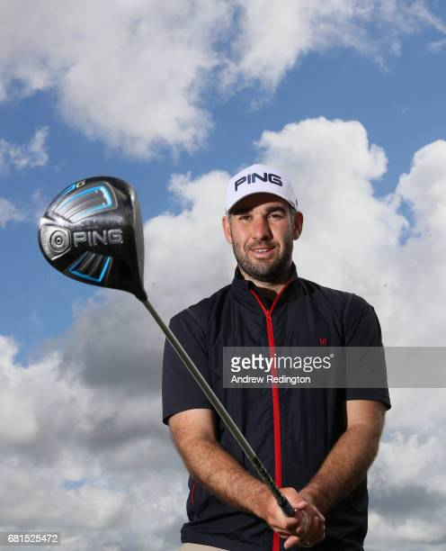 Oliver Farr of Wales poses for a portrait during the Open de Portugal at Morgado Golf Resort on May 10 2017 in Portimao Portugal