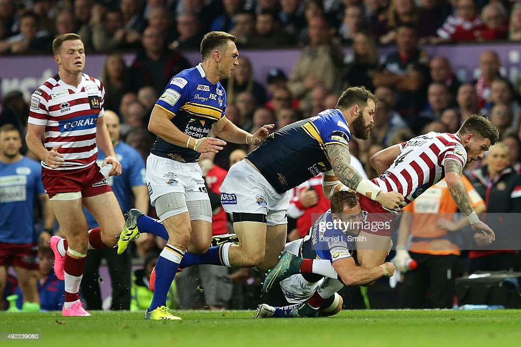 Wigan Warriors v Leeds Rhinos - First Utility Super League Grand Final