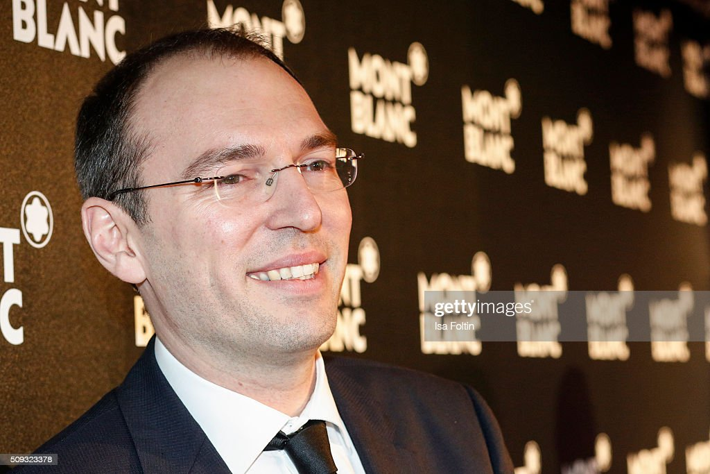 Oliver Goessler attends the Montblanc House Opening on February 09, 2016 in Hamburg, Germany.