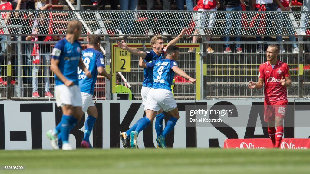 FC Wuerzburger Kickers v F.C. Hansa Rostock - 3. Liga