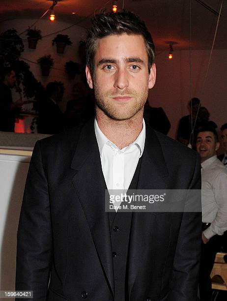 Oliver JacksonCohen attends an after party celebrating the Red Carpet Premiere of the Netflix original series 'House of Cards' at Asia de Cuba St...