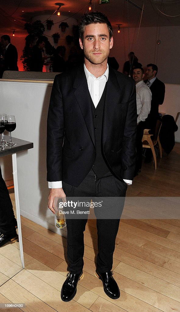 Oliver Jackson-Cohen attends an after party celebrating the Red Carpet Premiere of the Netflix original series 'House of Cards' at Asia de Cuba, St Martins Lane Hotel, on January 17, 2013 in London, England.