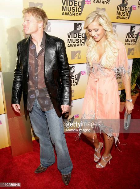 Oliver Kahn and Verena Kerth during 2006 MTV Video Music Awards Arrivals at Radio City Music Hall in New York City New York United States