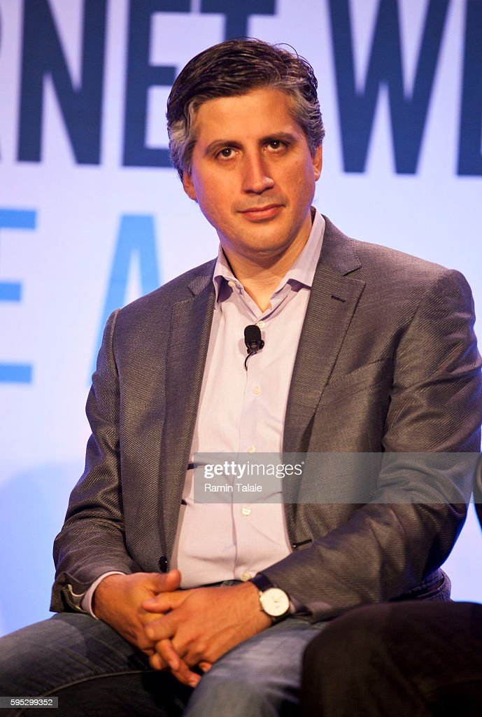 Oliver Kharraz MD Founder and Chief Operating Officer of ZocDoc listens during a panel discussion at Internet Week New York in New York Wednesday May...