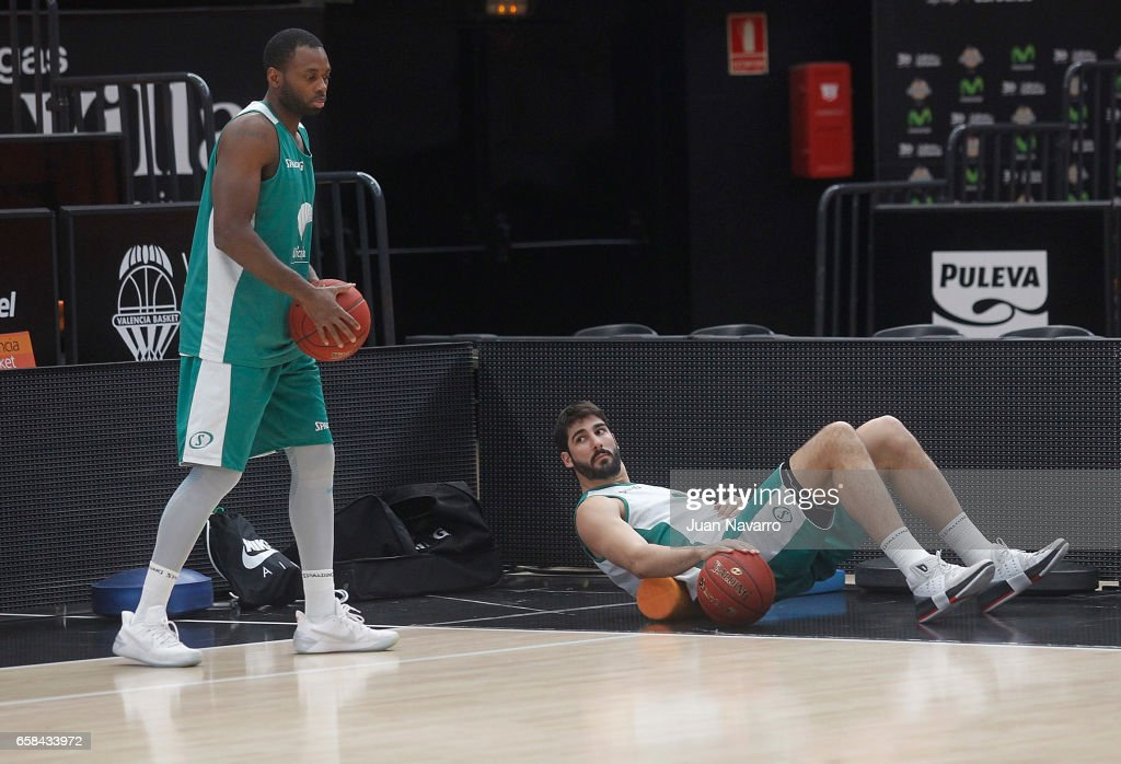 Unicaja Malaga Training Session - EuroCup Basketball Finals