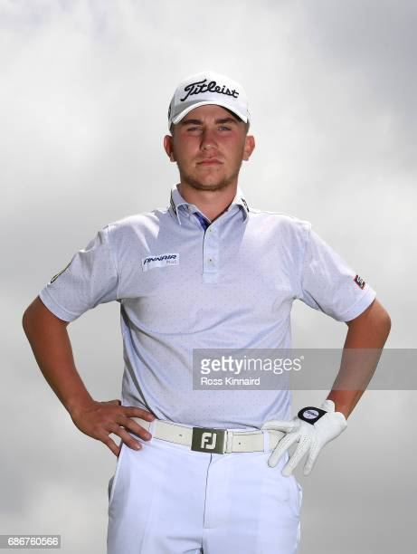 Oliver Lindell of Finland poses for a portrait during the first round of Andalucia Costa del Sol Match Play at La Cala Resort on May 18 2017 in La...